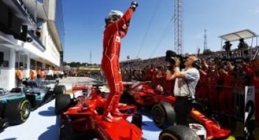 Formula 1 – GP Ungheria: trionfo di Vettel e delle Ferrari