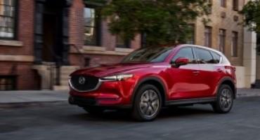 Mazda, cinque modelli della gamma promossi a pieni voti dall'IIHS