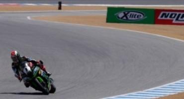 Superbike, Rea domina Gara 2 a Laguna Seca, davanti a Sykes e Davies