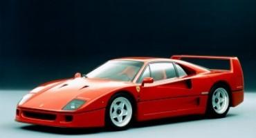 La Ferrari F40 compie 30 anni
