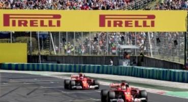 Formula 1 – GP Ungheria: prima fila tutta rossa con Vettel davanti a Raikkonen