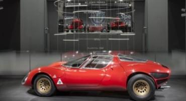 Alfa Romeo celebra i 50 anni della meravigliosa 33 Stradale