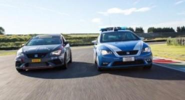 La Polizia di Stato scende in pista con Seat