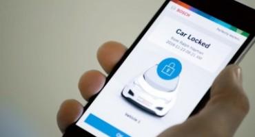 Bosch, Perfectly Keyless trasforma lo smartphone in una chiave della vettura
