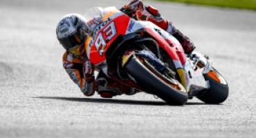 MotoGP, a Silverstone Marquez centra la quarta pole davanti a Rossi e Crutchlow