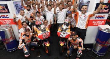 MotoGP, dominio spagnolo a Brno, Marquez vince davanti a Pedrosa e Vinales. Quarto Rossi