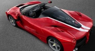 Ferrari mette all'asta una LaFerrari Aperta a favore di Save the Children