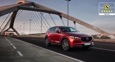 Nuova Mazda CX-5, supera i test sulla sicurezza EuroNCAP con il punteggio massimo