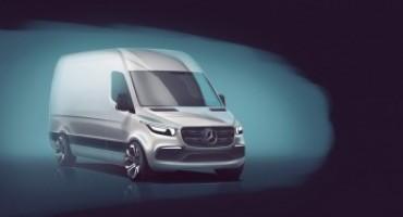 Mercedes svela i dettagli del prossimo Sprinter