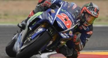 MotoGP, nel round di Aragon la pole è di Vinales, davanti a Lorenzo e Rossi