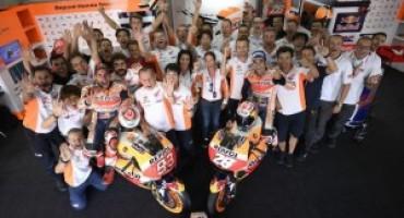 MotoGP, ad Aragon vince Marquez davanti a Pedrosa e ad un ritrovato Lorenzo