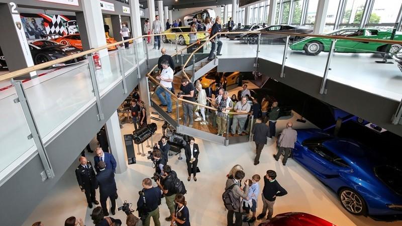 Museo Lamborghini, record di visitatori nei primi otto mesi del 2017
