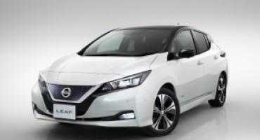 Nuova Nissan LEAF, tecnologia ProPilot e nuovi sistemi avanzati di assistenza