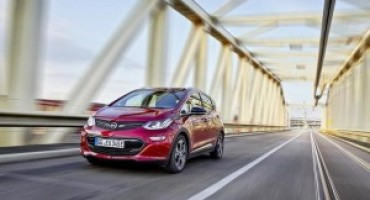 Opel Ampera-E, limiti di percorrenza sempre più elevati per l'elettrica di Rüsselsheim