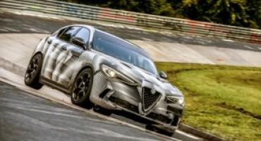 Alfa Romeo Stelvio Quadrifoglio, è già record mondiale al Nürburgring