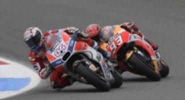 MotoGP, Dovizioso chiude in testa le libere di Motegi, davanti a Marquez. Bene Aprilia, male Yamaha