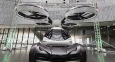 Al MAUTO di Torino, Italdesign e Airbus presentano POP.UP, la prima auto volante