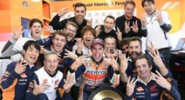MotoGP, Marquez vince e ipoteca il mondiale. Rossi e Vinales sul podio. Disastro Ducati