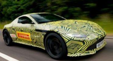 Aston Martin Vantage, pronti ad alzare il velo sul MY 2018