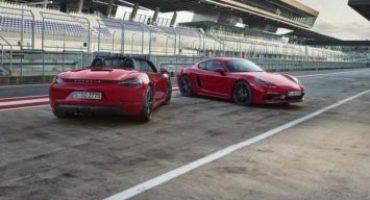 Porsche allarga la gamma e introduce le nuove 718 GTS