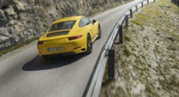 Nuova Porsche 911 Carrera T, per veri puristi della guida