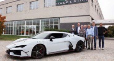 """La Italdesign """"Automobili Speciali"""" consegna la prima Zerouno"""