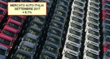 ANFIA, Mercato Auto Italia: settembre si chiude con una crescita dell'8,1%
