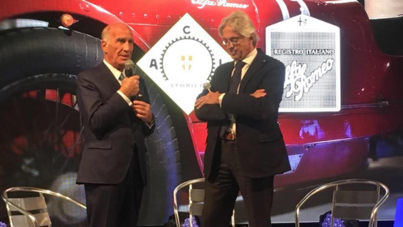 Siglato l'accordo tra l'ACI Storico e il RIAR (Registro Italiano Alfa Romeo)