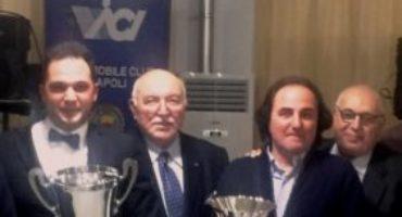 Automobile Club Napoli, premiati i Campioni del Volante Campani