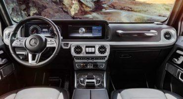 Nuova Mercedes-Benz Classe G, moderna e con interni ancora più esclusivi