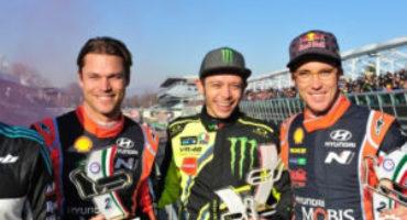 Monza Rally Show, Valentino Rossi vince l'edizione 2017 e diventa il nuovo recordman della gara