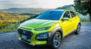 Hyundai Kona ottiene le cinque stelle EuroNCAP sulla sicurezza