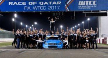 FIA WTCC, a Losail (Qatar), Thed Bjork e Polestar Cyan Racing conquistano lo scettro iridato