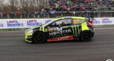 Monster Energy Monza Rally Show 2017, Valentino Rossi al comando della classifica provvosoria