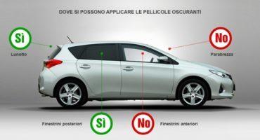 Auto, pellicole oscuranti per vetri: cosa dice la legge