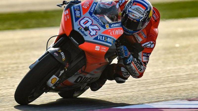 MotoGP-Qatar, Super Dovi chiude al comando le libere di Losail