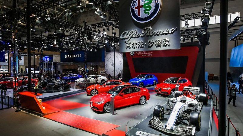 Stelvio Quadrifoglio, il SUV Alfa Romeo debutta all'Auto China 2018