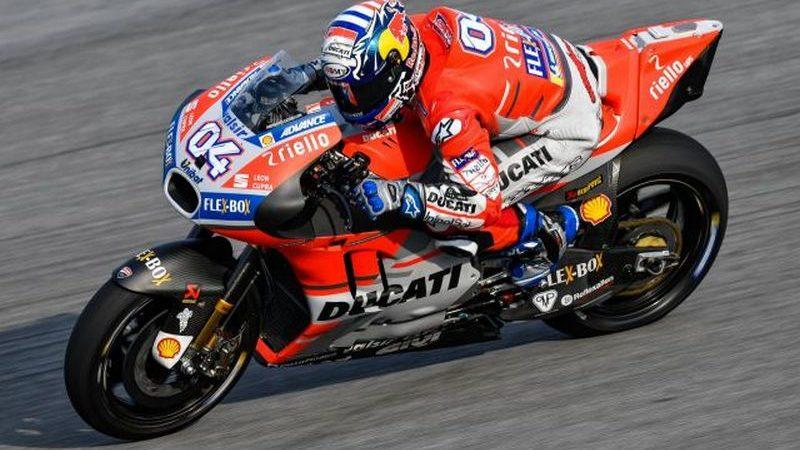 MotoGP, Dovizioso rinnova con Ducati e chiude in testa le libere di Le Mans