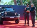 FCA consegna una Jeep Wrangler all'Arma dei Carabinieri