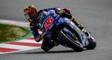 MotoGP, Vinales chiude al comando le libere di Assen