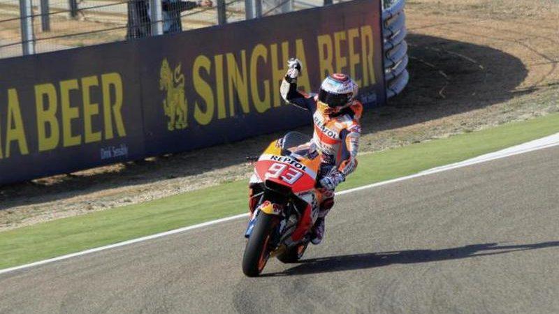 MotoGP, Marquez suona la nona al Sachsenring
