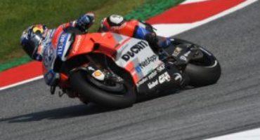 MotoGP, Dovizioso e le Ducati dominano il Venerdì in Austria