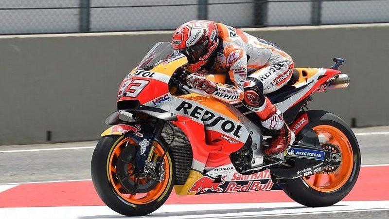 MotoGP, Marquez in pole al Red Bull Ring