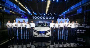 Dongfeng Nissan inizia la produzione dell'auto elettrica in Cina