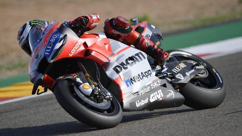MotoGP, Lorenzo centra la pole ad Aragon