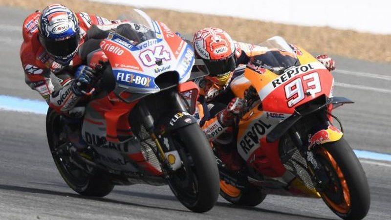 MotoGP, Dovizioso chiude al comando le libere di Motegi
