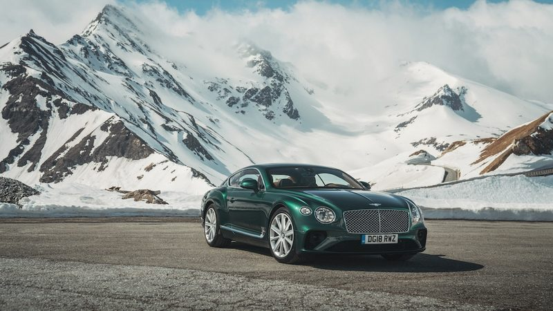 Bentley Milano, la nuova Continental GT protagonista di Milano AutoClassica