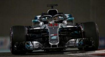 Formula 1, Hamilton centra ad Abu Dhabi la sua undicesima pole stagionale, l'83^ in carriera.