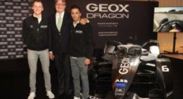 Geox diventa sponsor ufficiale del Team Dragon di Formula E