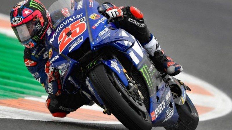 MotoGP, Vinales in pole a Valencia